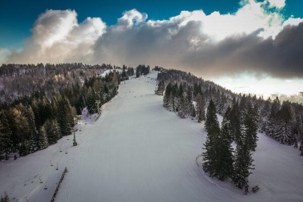 Slowenien Skigebiet Cerkno