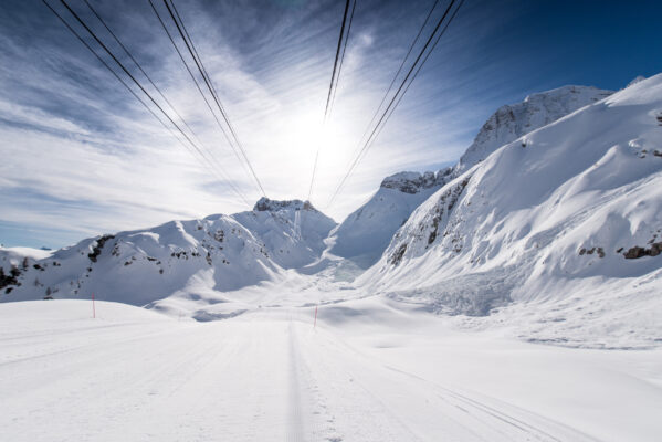 Slowenien Skigebiet