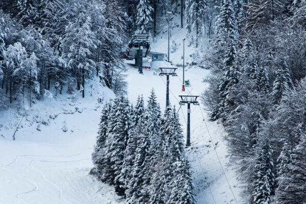 Slowenien Skigebiet Kranjska Gora