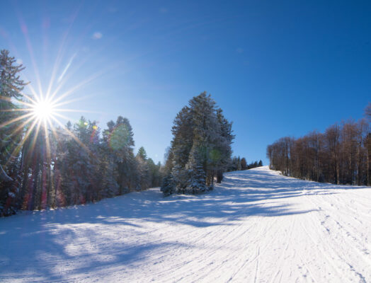 Slowenien Skigebiet Mariborsko Pohorje