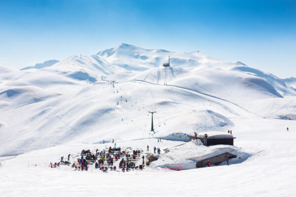 Slowenien Skigebiet Vogel Bohinj