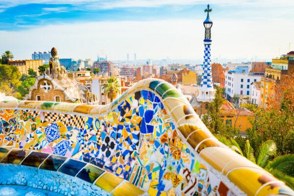 Spanien Barcelona Park Gaumen