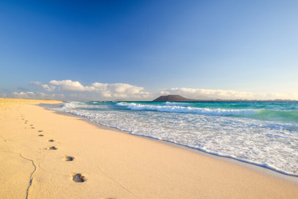 Spanien Fuerteventura Corralejo Strand
