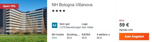 3 Tage Bologna