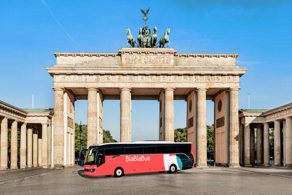 BlaBlaBus Brandenburger Tor