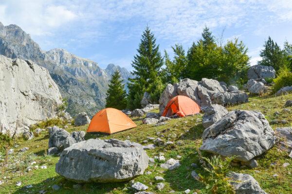 Albanien Camping
