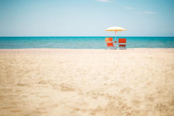 Albanien Durres Beach