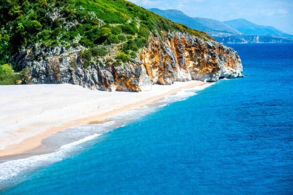 Albanien Gjipe Beach