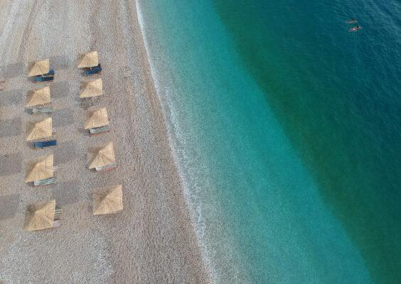 Albanien Potami Beach