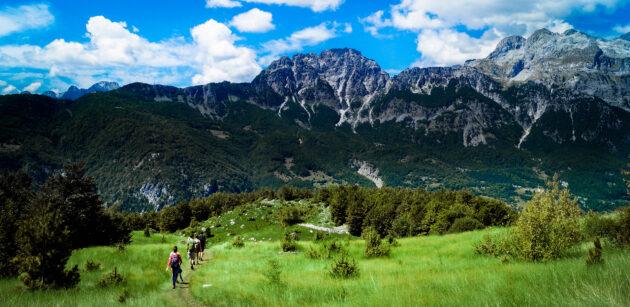 Albanien Shkoder Wandern