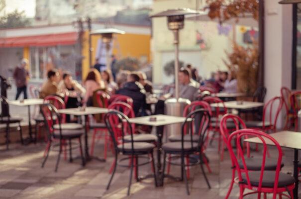Albanien Tirana Cafe