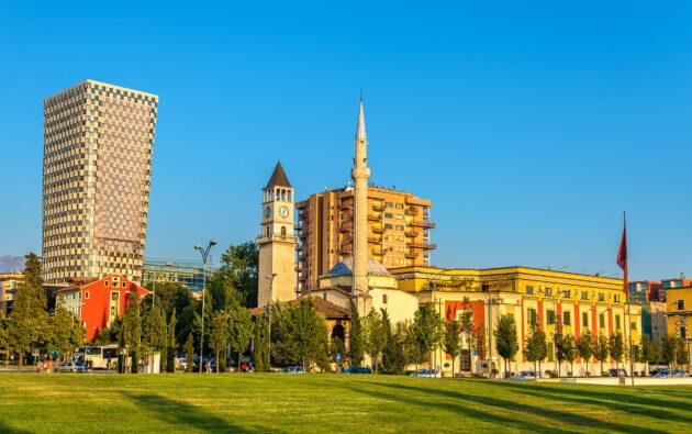 Albanien Tirana Ethem Bey Moschee
