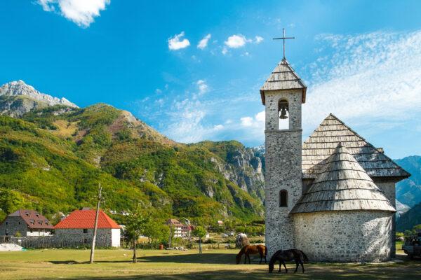 Albanien Wandern Theth Nationalpark