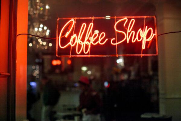 Amsterdam Coffeeshop Schild