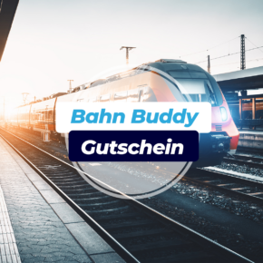 Bahn Buddy Gutschein: Erhaltet [v_value] mehr auf Eure Auszahlung bei Zugverspätung
