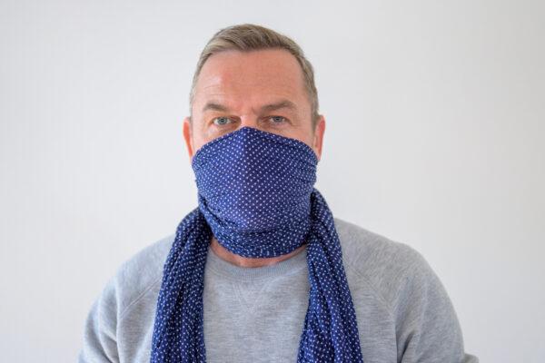 Corona Gesichtsmaske Schal