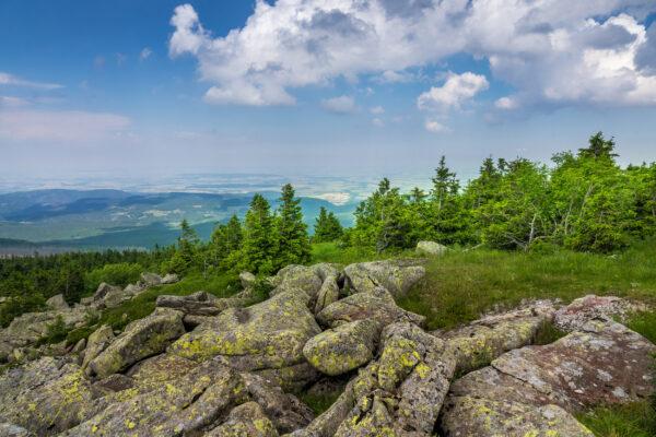Deutschland Harz Berge