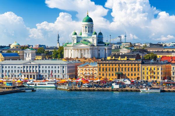 Finnland Helsinki Altstadt