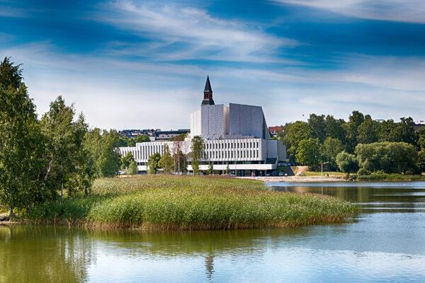 Finnland Helsinki Finlandia Halle