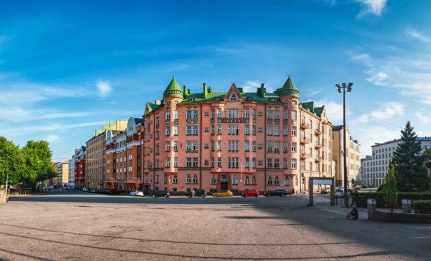Finnland Helsinki Kallio