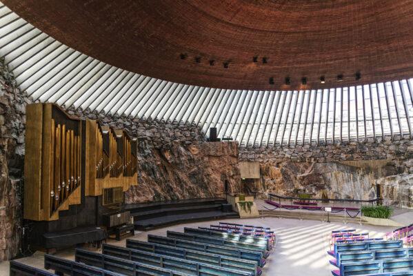 Finnland Helsinki Temppeliauki Felsenkirche