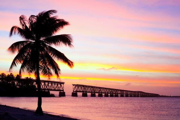 Florida Bahia Honda State Park Sonnenuntergang