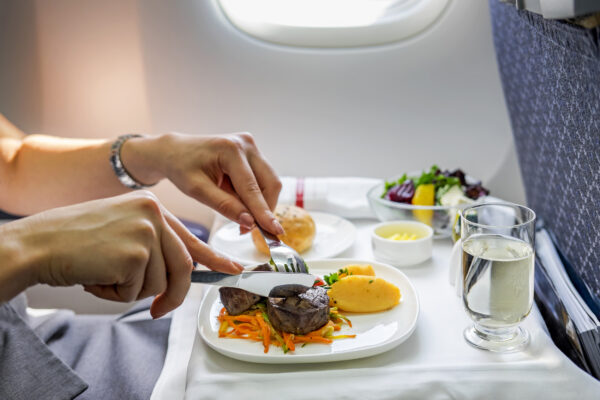 Flugzeug Essen