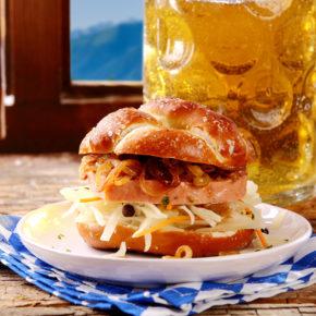 München Bayrischer Burger