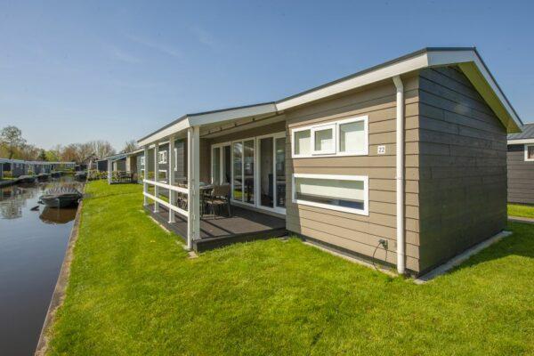Niederlande Vakantiepark Ferienhaus Wasser