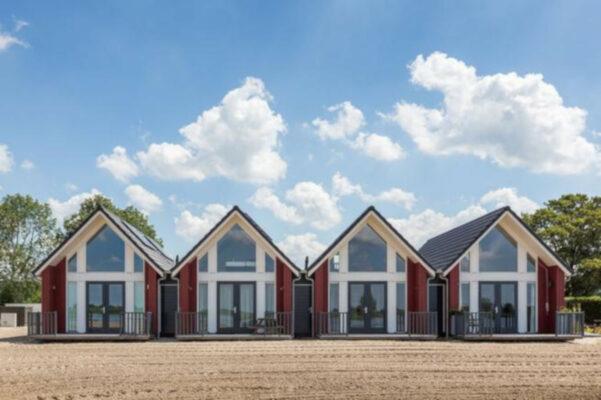 Niederlande Waterpark Langelille Ferienhäuser