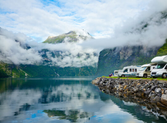 Camping in Norwegen
