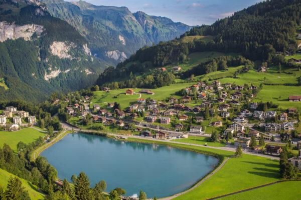 Schweiz Engelberg Eugenisee