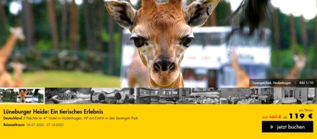 3 Tage Serengeti Park