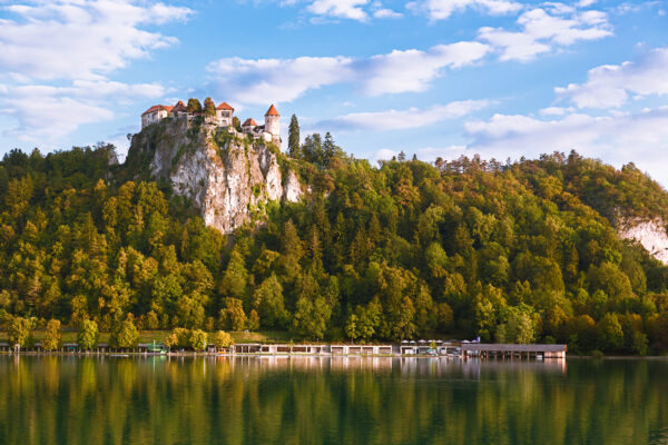 Slowenien Bleder Burg
