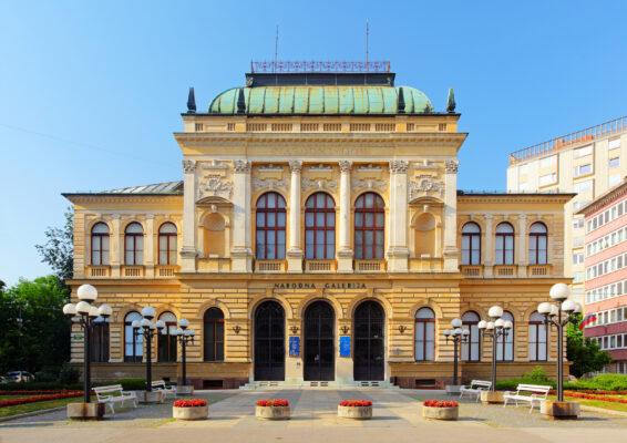 Slowenien Ljubljana Slowenische Nationalgalerie