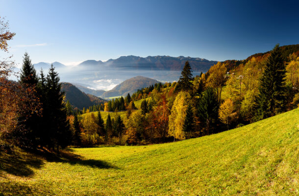 Slowenien Pokljuka Plateau