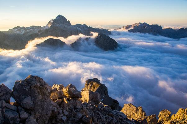 Slowenien Triglav Gipfel