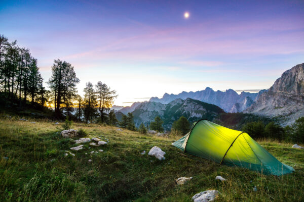 Slowenien Triglav Nationalpark Camping