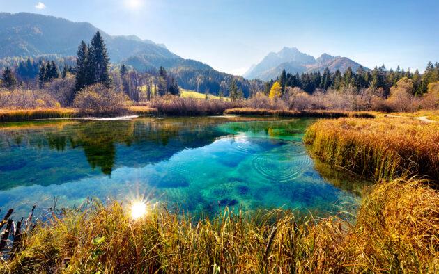 Slowenien Zelenci See