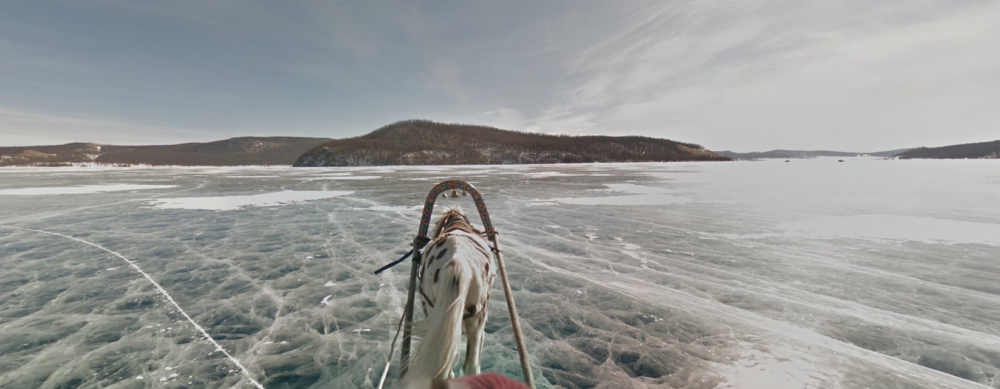 Google Streetview Khövsgöl Nuur Mongolei