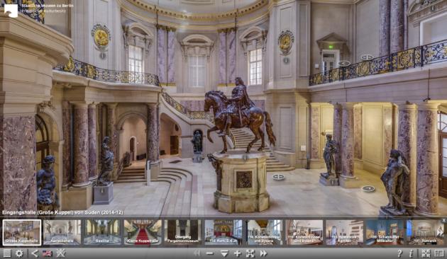 Bode Museum Berlin virtueller Rundgang Große Halle