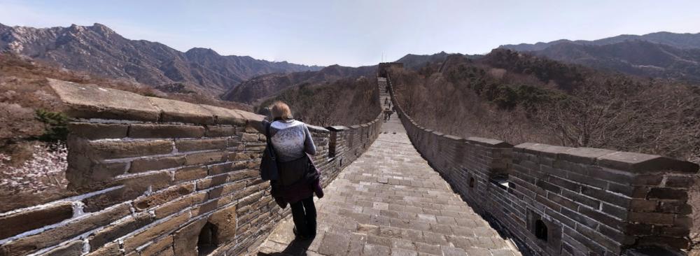 Google Streetview Chinesische Mauer