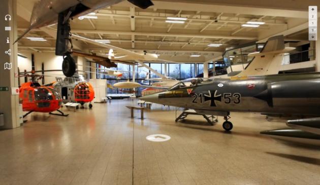 Deutsches Museum München virtueller Rundgang Luftfahrt