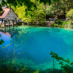 Heimaturlaub: 2 Tage übers Wochenende am idyllischen Blautopf mit 3* Hotel & Frühstück nur 44€