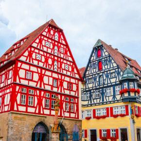 Fühlen wie im Mittelalter: 3 Tage Rothenburg ob der Tauber im TOP 4* Designhotel mit Frühstück nur 179€