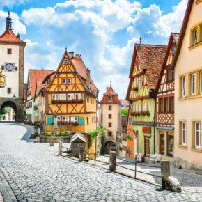 Eine Zeitreise ins Mittelalter: 3 Tage in Rothenburg ob der Tauber im 3* Hotel mit Frühstück nur 99€