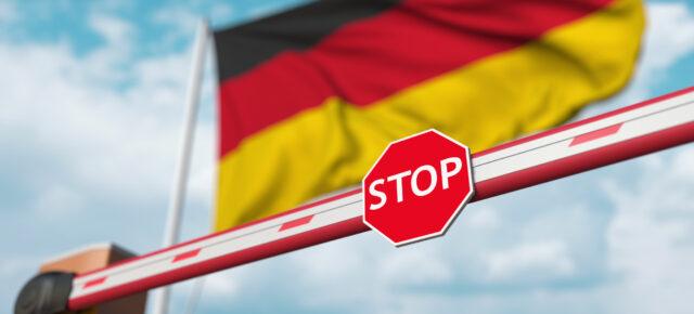 Deutschland Schranke Corona