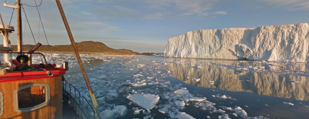 Google Streetview Eisfjord Grönland