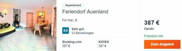 Auenland 3 Tage