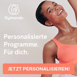Gymondo Gutschein personalisiert